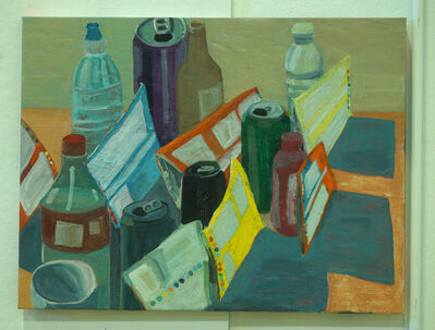 Ezra Johnson, 'Bags, Cans and Bottles', 2018