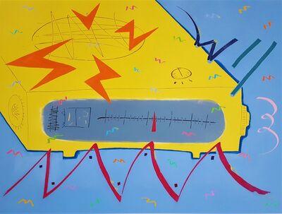 Kazuhide Yamazaki, 'Yellow Alarm Clock Radio', 1981