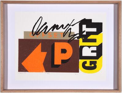 Skylar Fein, 'Offset/True Grit', 2010
