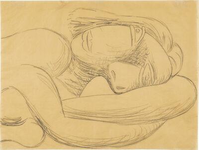 Pablo Picasso, 'Femme en buste/ Buste de femme couchée', 1939