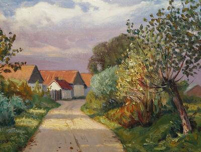 Charles Roussel, 'Landscape near Rang du Fliers'