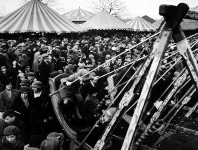 Wolfgang Suschitzky, 'Hampstead Heath Fair, London, Easter', 1934