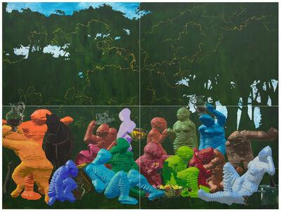 Miao Xiaochun 缪晓春, 'Sunday Picnic', 2015