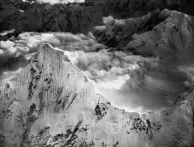 Bradford Washburn, 'Mount Huntington, Looking Southwest at Twilight', 1964