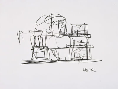 Frank Gehry, 'Study for New Frank Gehry House', 2004