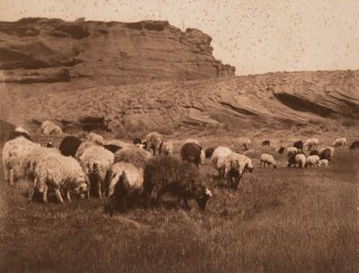 Edward Sheriff Curtis, 'Navaho Flocks, Getting Water-Havasupai, and Pakit-Maricopa (3 works)'