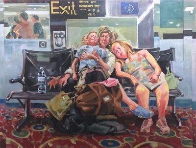 RU8ICON1, 'Waiting Room', 2017