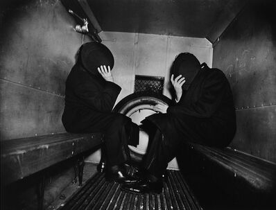 Weegee, 'In the Paddy Wagon', 1944/1993