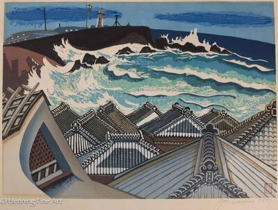 Junichiro Sekino, 'Roof Top Sea Scape', 1977