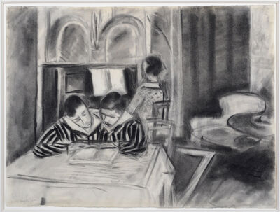 Henri Matisse, 'Henriette and Her Brothers', 1923
