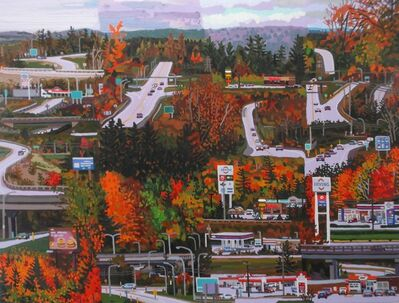 Jack Bishop, 'It's a nice drive in the fall', 2019