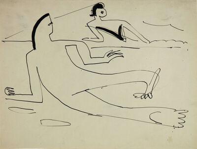 Ernst Ludwig Kirchner, 'Schwimmer', 1929
