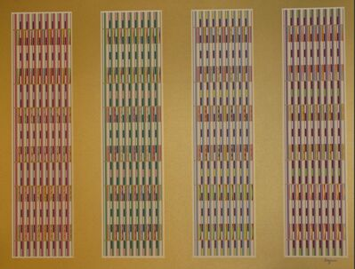 Yaacov Agam, 'Vertical Orchestration', Unknown