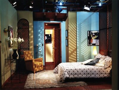 Luis Molina-Pantin, 'Scenery IV (Bachelor's Bedroom)', 1997