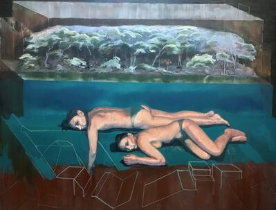 Nick Hall, 'Swimming in Half Truths', 2019
