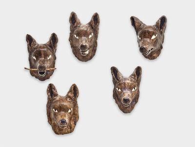 Clémentine de Chabaneix, 'Five-wolf pack', 2020