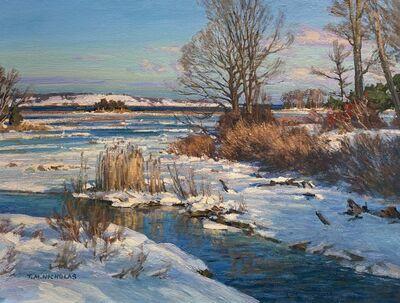TM Nicholas, 'Marsh in Winter', 2021