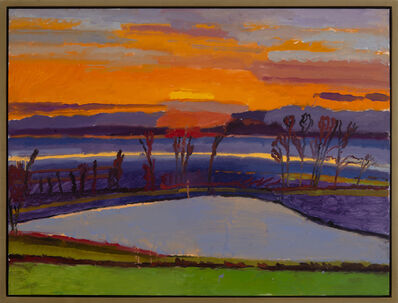 Graham Nickson, 'Ice Pond: Sunset'