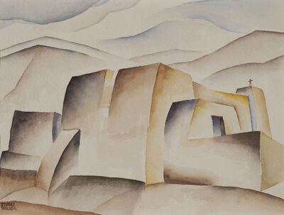 Stuart Walker, 'Ranchos de Taos Church', ca. 1936-39