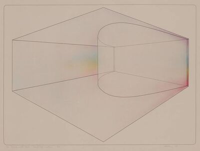 De Wain Valentine, 'CURVED WALL--SPECTRUM', 1974