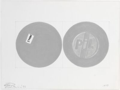 Steven Parrino, '1979', 1995