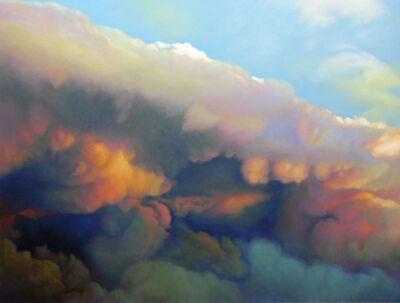 Joice M. Hall, 'Cumulus Congestus #5'