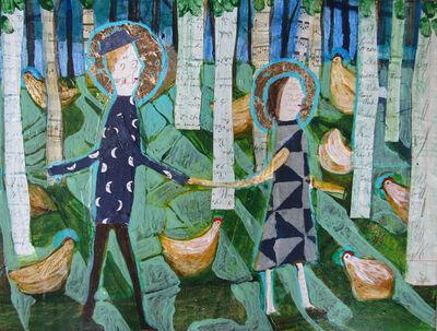Donald Saaf, 'Birch Woods', 2021