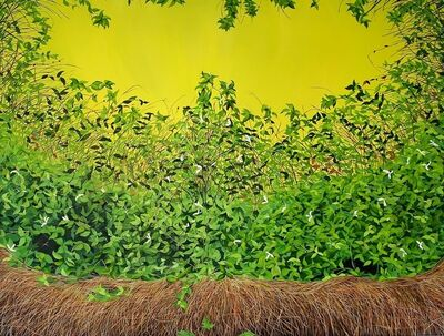 Allison Green, 'Yellow Thicket (Thicket #3)', 2011