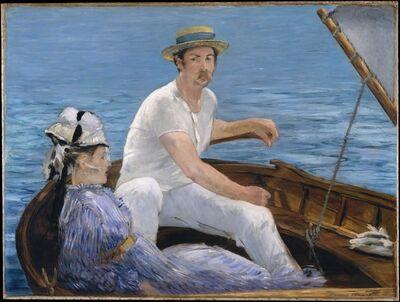 Édouard Manet, 'Boating', 1874