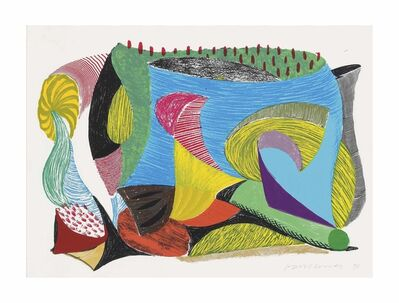 David Hockney, 'Above an beyond', 1993