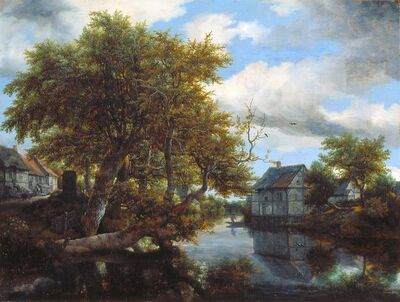 Jacob van Ruisdael, 'The Great Pool', 1652