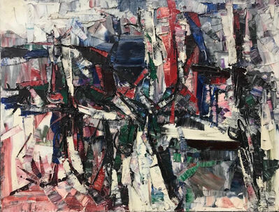 Jean-Paul Riopelle, 'Miroir du Lac', 1959
