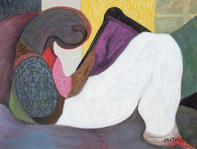 Antoine de Castellane, 'Repos derrière mon rideau jaune', 2004