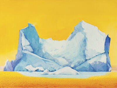 Scott Kelley (b. 1963), 'Iceberg, Loudwater Cove, Antarctica'