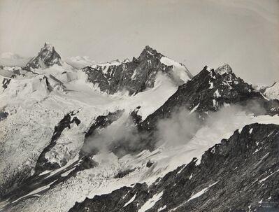 Vittorio Sella, 'Cervino Rothen dent blanche dalla cresta del Weissors 29 July 1887'