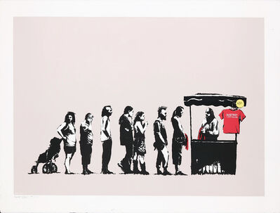 Banksy, 'Festival (Destroy Capitalism) - Rare Artists Proof', 2006