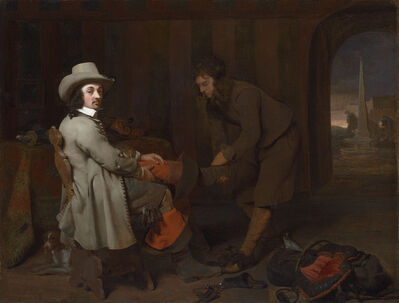 Michael Sweerts, 'Anthonij de Bordes and His Valet', ca. 1648