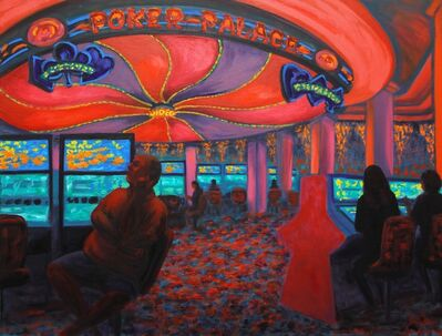Jane Dickson, 'Pink Poker Palace', 2011
