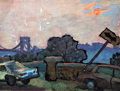 Konstantin Bokov, 'Bridge Park', 1988