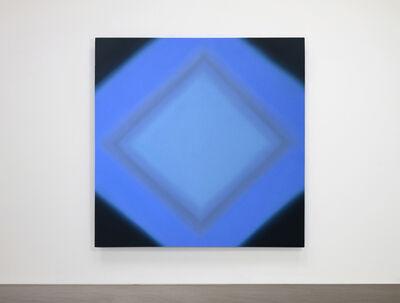 Ruth Pastine, 'Inevitability of Truth 4-S7272 Diamond (Blue Orange/Blue Violet), Inevitability of Truth Series', 2015