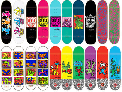Keith Haring, 'Collection of 20 skateboard decks', 2012-2014