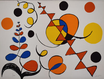 Alexander Calder, 'Composition I, from The Elementary Memory', 1976