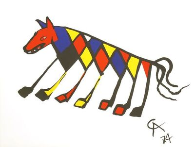 Alexander Calder, 'Beastie; Convection', 1974