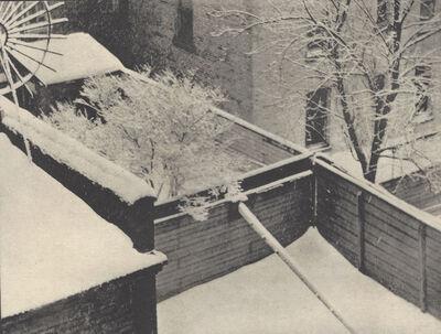 Paul Strand, 'Snow, Backyards, New York City', 1915