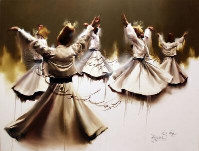 Hossein Irandoust, 'Dervish Dancers', 2019