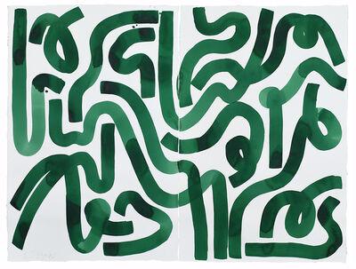 Kate Roebuck, 'Green Grass Maze', 2020