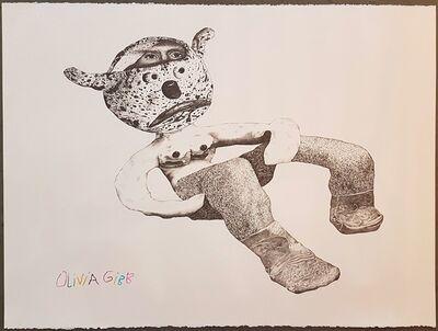 Olivia Gibb, 'Loungy Bear', 2017
