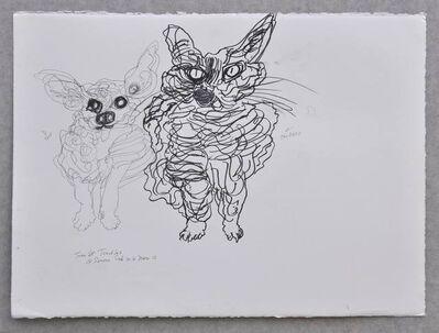 Simone Gad, 'Taco et Toodles', 2016