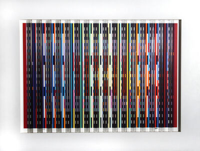 Yaacov Agam, 'Midnight Blue', ca. 1980