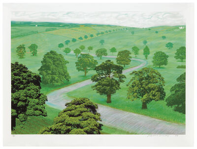 David Hockney, 'Green Valley', 2008